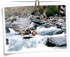 River Rafting in Corbett